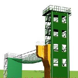 带横渡训练塔-横渡消防训练塔-五5层训练