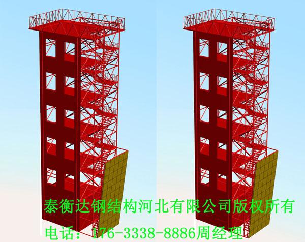 5层消防训练塔